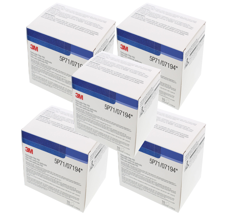 3M 07194 Particulate Respirator Filter 5P71, P95, 50 Filters