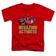 Megazord Activated Little Boys Shirt