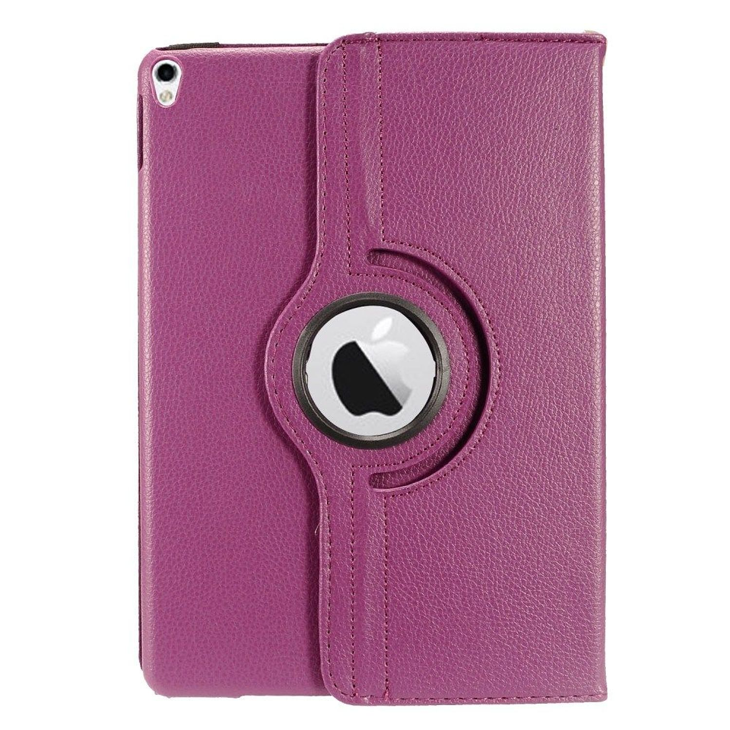 "Apple iPad Pro Case 10.5"", by Insten Folio Leather Fabric Case w/stand For Apple iPad Pro 10.5"" - Purple"