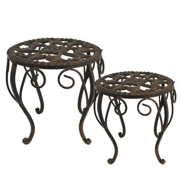 TIC Collection 39-049 Martha Plant Stand - Set of 2