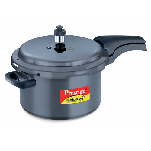 Prestige Cookers Deluxe Hard Anodized Pressure Cooker