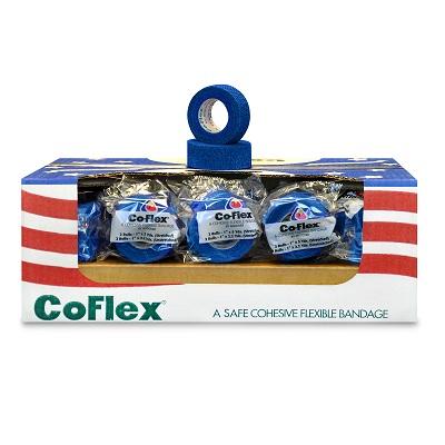 "Andover Co-Flex Self Adherent Bandage Wrap 1"" x 5yds 10 Rolls MS-35715"