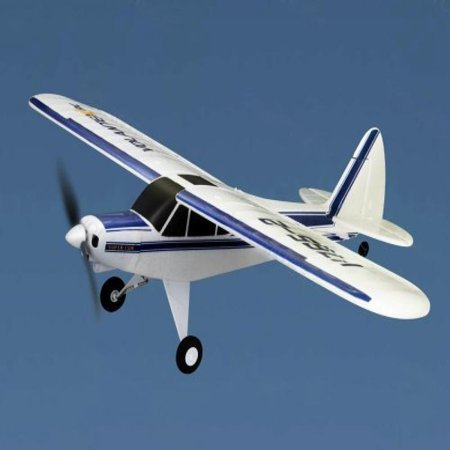 "Super Cub 2.4Ghz RTF 29"" WingSpan RC 3CH EPO Airplane Beginner Glider R/C Piper J-3 Trainer Plane V765-2"