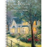 Thomas Kinkade Painter of Light with Scripture 2020 Engagement Calendar (Other)