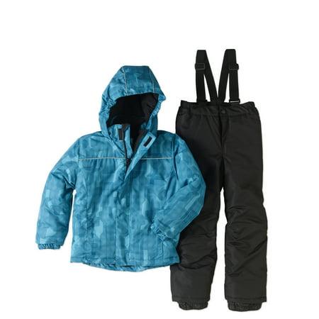 Iceburg Boys' Storm Snow Suit With Jacket And Bib 2 Pc Set