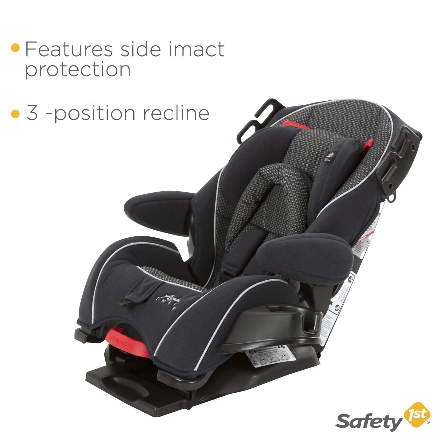 Safety 1st Alpha Omega Elite Convertible 3 In 1 Kids Car Seat Quartz Used