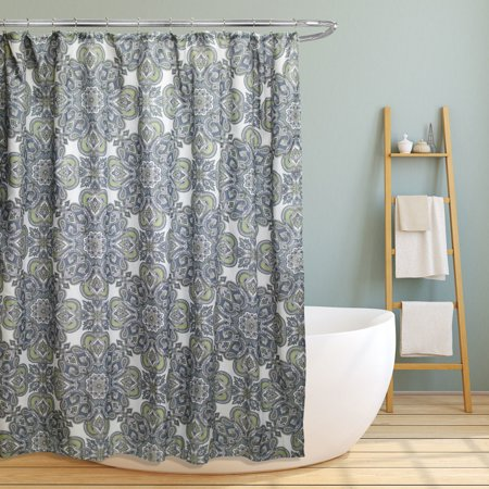 Fabric Canvas Shower Curtain, 70
