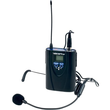 Vocopro Wireless Bodypack Microphone Transmitter - 600 Mhz Transmitter Frequency (uhf5900bp)