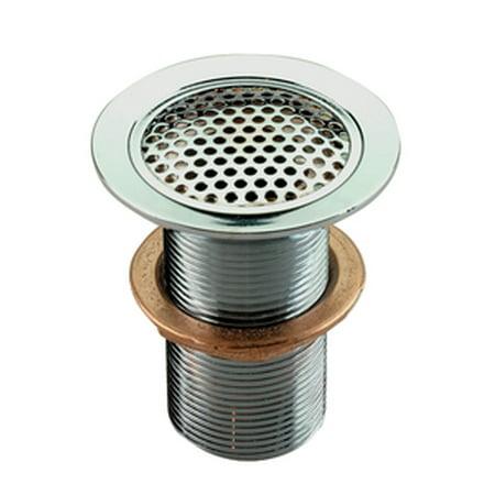 """Perko 0361005CHR Chrome Plated Bronze Flush Mount Drain for 3/4"""" Pipe"""