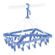 Whitmor Manufacturing 6171-844 Clip and Dry Hanger with 26 Clips