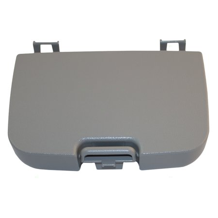 Set Gray Overhead Console Sunglass Box & Garage Door Opener Lid Replacement for Ford Super Duty Pickup Truck 2C3Z7811586BAB (Overhead Console Ford)