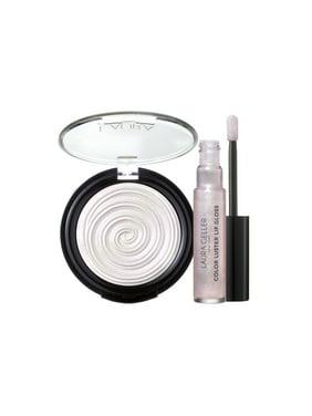 ($55 Value) Laura Geller Glow Your Own Way Diamond Dust Luminous Highlighter Makeup Collection