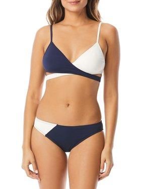 b3f929f7307ff Product Image Sun Block Colorblock Wrap Bikini Top