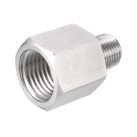 Pipe to Fitting Adapter, Pressure Gauge Adapter 1/8