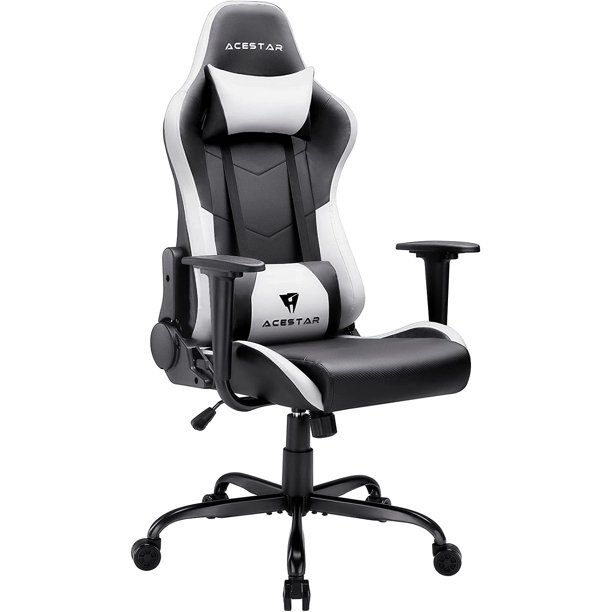Acestar Racing Style Gaming Chair, 300lbs Comfortable Pc Gaming