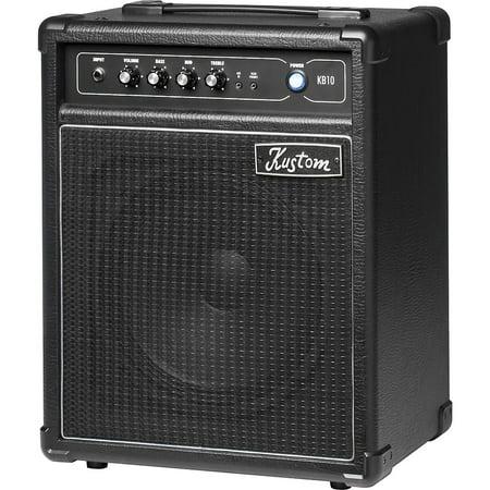 Kustom KB10 10W 1x10 Bass Combo Amp Black (Kustom Amps 30)