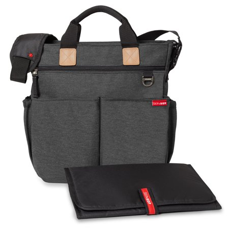 - Skip Hop Duo Signature Diaper Bag, Soft Slate
