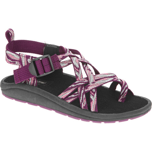 Faded Glory Girls' Woven Strap Sandal