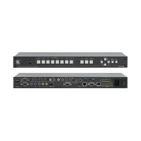 Proscale Presentation Scaler (Kramer VP-770 8–Input ProScale™ Presentation Switcher/Scaler with Speaker)