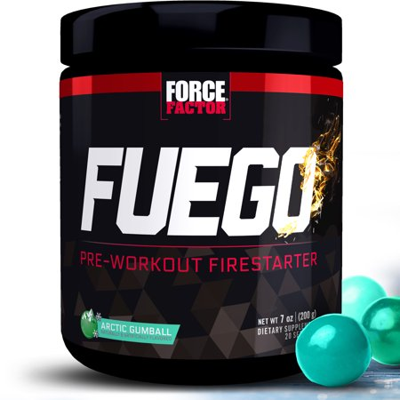 Force Factor Fuego Pre Workout, Arctic Gumball, 20