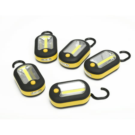 Hyper Tough 5-Pack 2-IN-1 Work Light