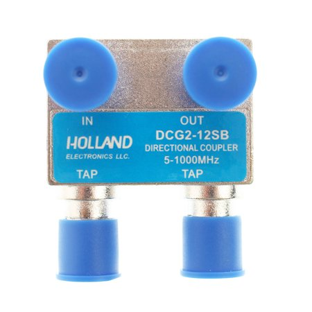 Holland Electronics DCG2-12SB 2 Port Directional Coupler - 12dB