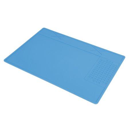 Garosa Coussin à souder, tapis en silicone pour station de réparation de maintenance, support de réparation résistant à la chaleur pour réparation de téléphone, tapis à souder - image 3 de 6