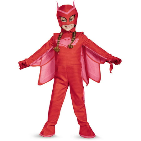Simple Halloween Wear (PJ Masks Owlette Deluxe Child Halloween)