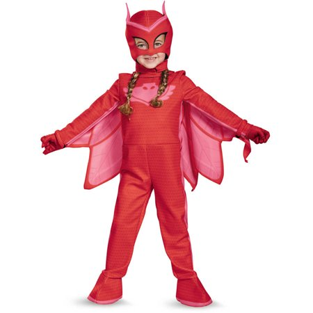 PJ Masks Owlette Deluxe Child Halloween Costume (Halloween Costume Ideas Night Before)