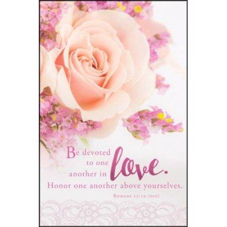 Bulletin-Be Devoted (Wedding) (Romans 12:10) (Pack Of 100)](Wedding Bulletins)
