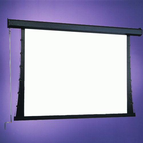 Draper HiDef Grey Premier / Series C Manual Screen - 84'' x 84'' diagonal AV Format