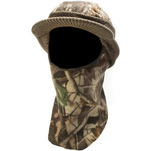 QuietWear Knit Fleece Visor with Drop Down Mask, Adventure Grey by Overstock