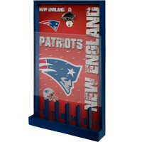 New England Patriots Wood Bottle Opener Sign Game - No Size