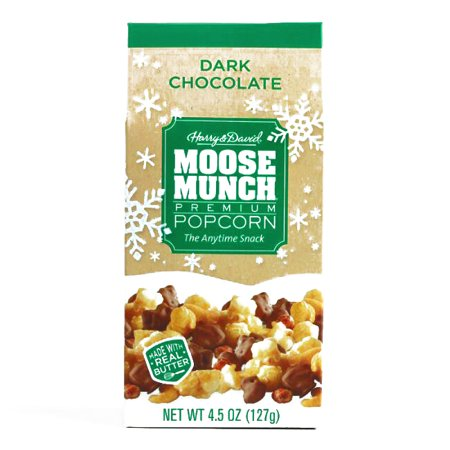 Harry & David Dark Chocolate Moose Munch Popcorn 4.5 oz each (1 Item Per Order, not per case) - Harry And David Halloween Cookies