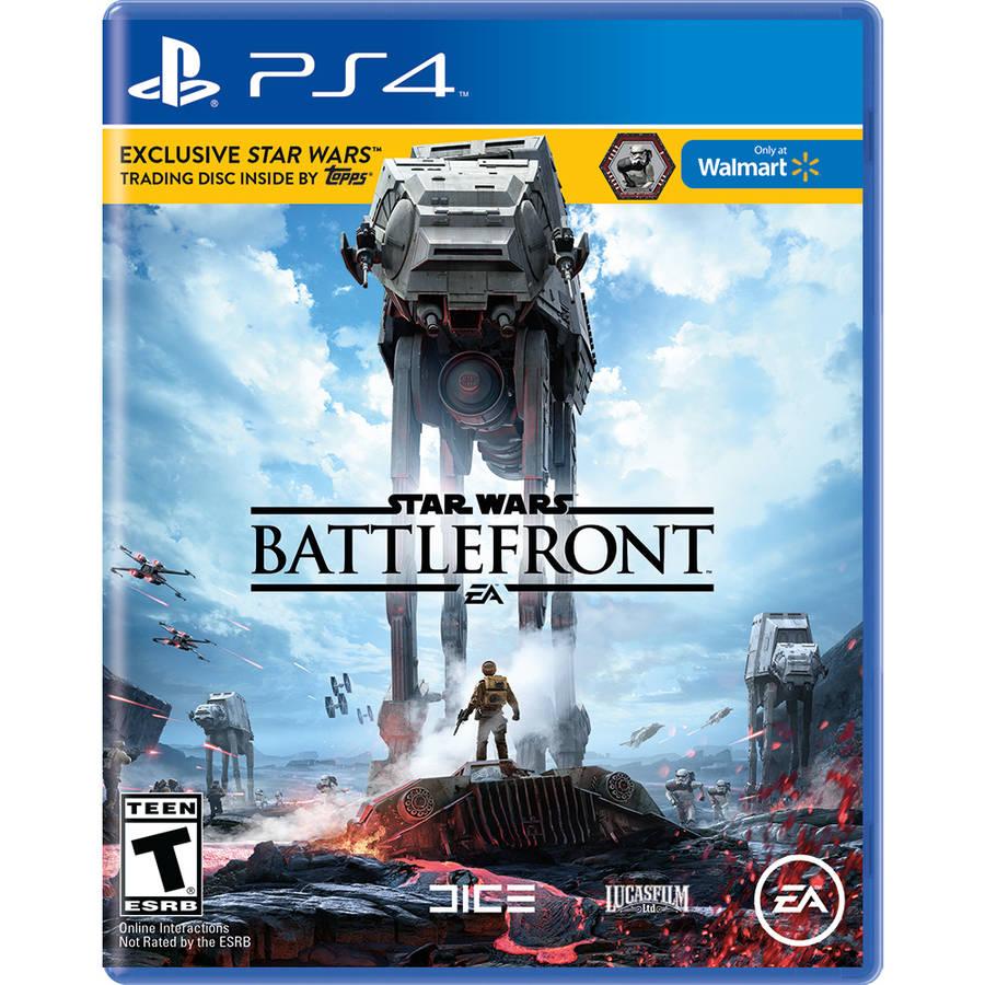 Star Wars Battlefront *Walmart Exclusive*, Electronic Arts, PlayStation 4, 014633735697