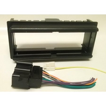 deeper dash kit and wire harness for installing a new single din radio into a buick century. Black Bedroom Furniture Sets. Home Design Ideas
