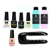 Red Carpet Manicure Portable LED Package Soak Off Gel Nail Polish Starter Kit - Best Reviews Guide