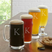Personalized 4-Piece Beer Tasting Glass Set