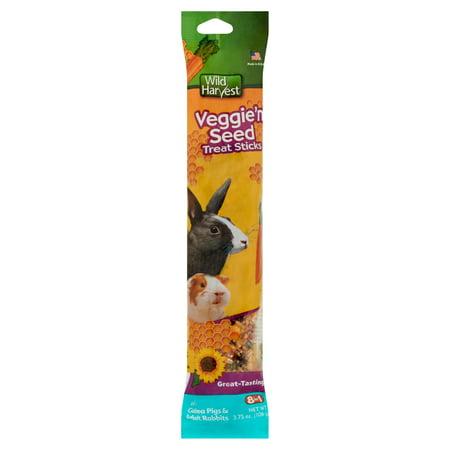 Wild Harvest Veggie 'n Seed Treat Sticks, 3.75 oz