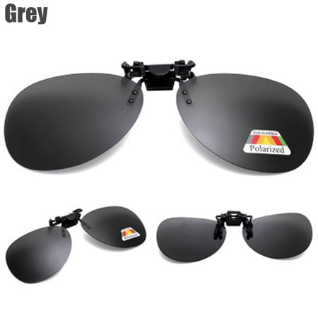 de3a76ef8af63b BOOBEAUTY - Clip On Flip Up Sunglasses Lens UV 400 Polarized Driving ...