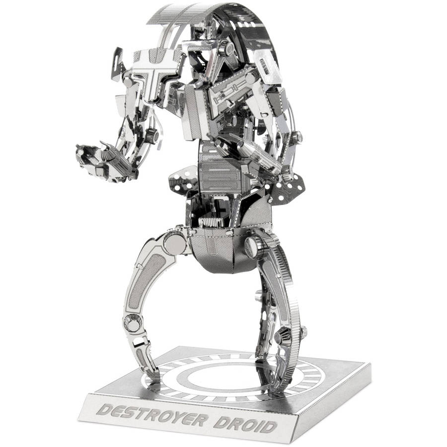 Metal Earth 3D Laser-Cut Model, Star Wars Destroyer Droid by Fascinations