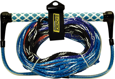 Click here to buy Seachoice 4-Section Water Ski Rope, 75' by Seachoice Products.