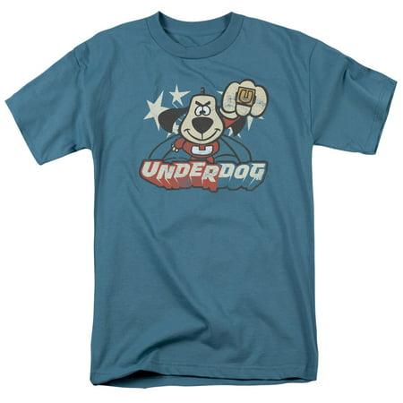 - Underdog Flying Logo Officially Licensed Adult T Shirt