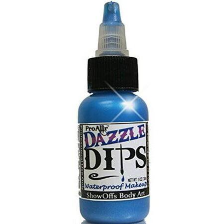 ProAiir Dips Waterproof Makeup - Blue Dazzle (1