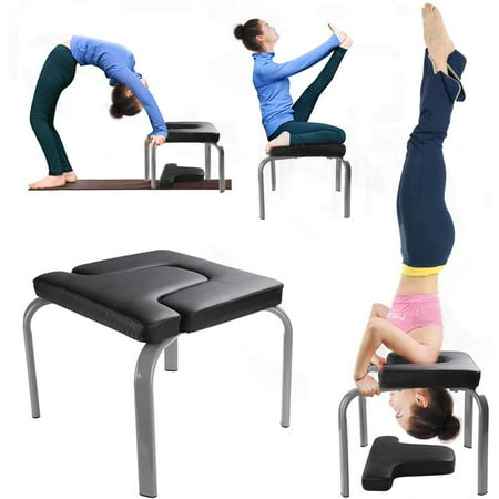 yoga inversion bench headstand prop upside down chair for