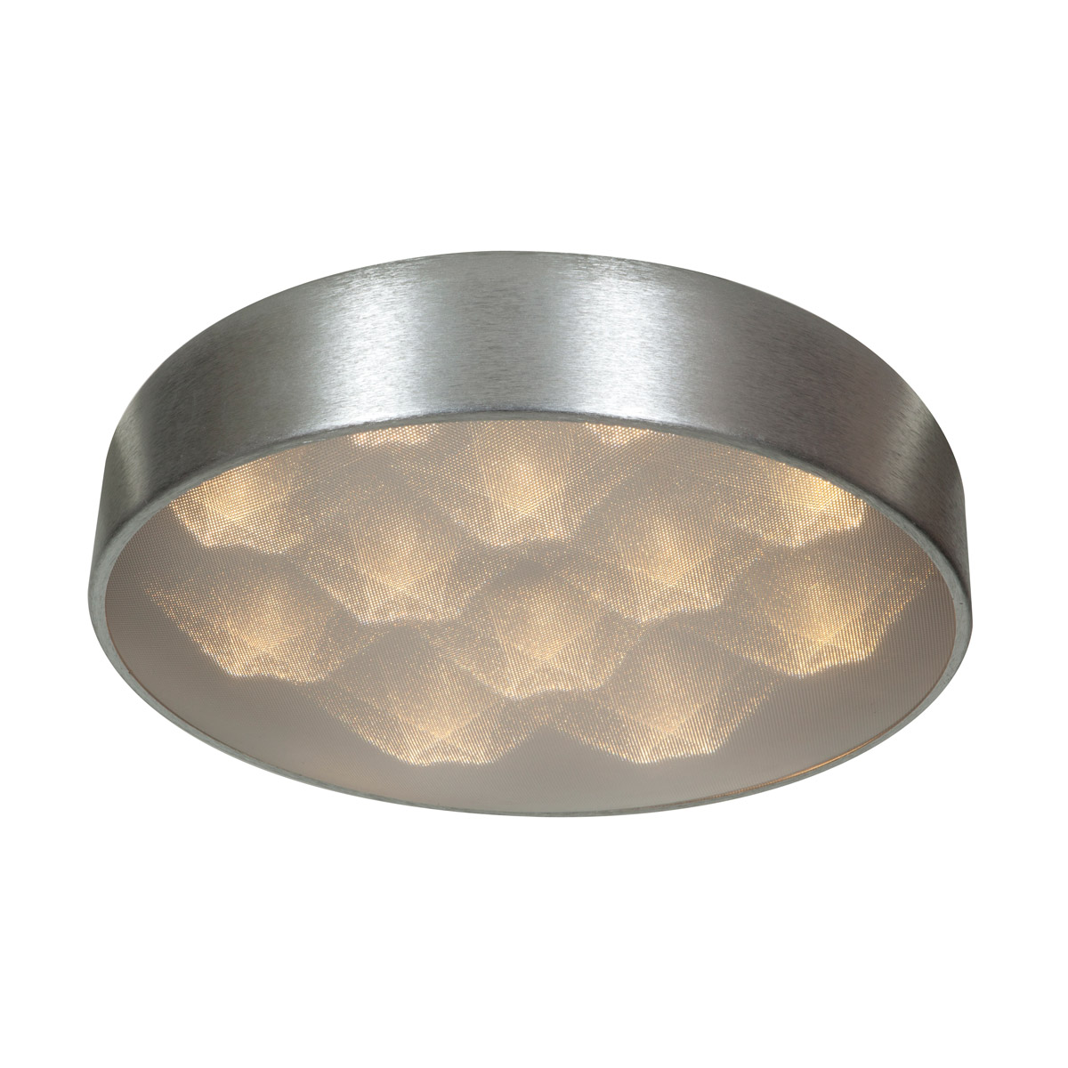 Access Lighting 70080LEDD-BSL ACR Meteor LED 13 inch Brushed Silver Flush Mount Ceiling Light by Access Lighting