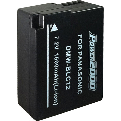 Vidpro BLC12 Replacement Battery for Panasonic BLC12 (Black)