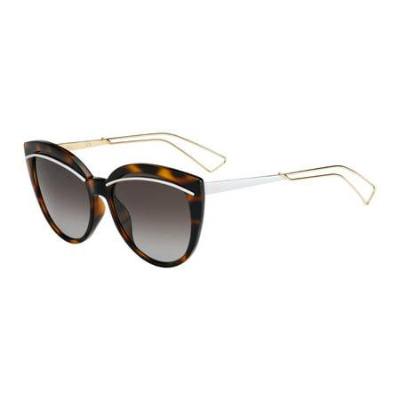 christian dior diorliner sunglasses havana rose gold (ha brown gradient lens) Christian Dior Brown Havana Sunglasses