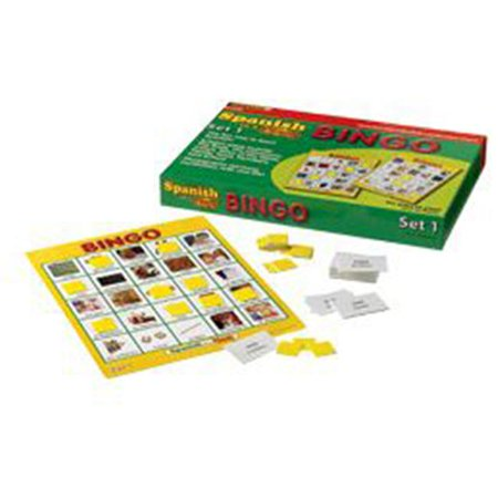 Edupress Spanish in a Flash Bingo Game Set 1 (EP62345) - image 1 of 1