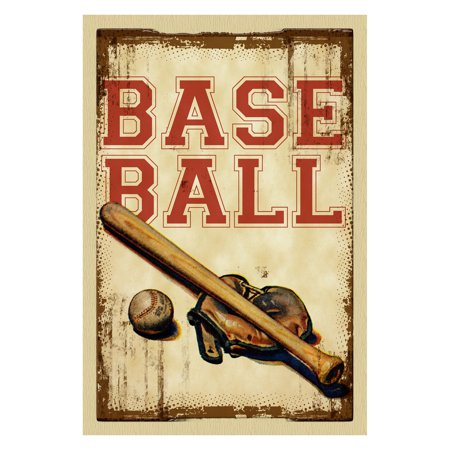 Toland Home Garden Vintage Baseball Flag